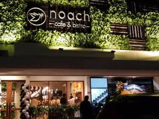 Noach cate and bistro Gastronomi Gaya Industrial Oleh Kottagaris interior design consultant Industrial