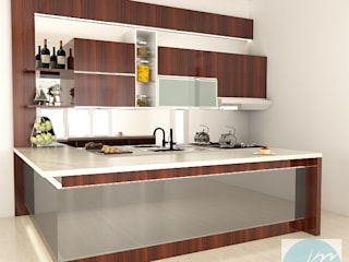 Pantry:   by JM Interior Design