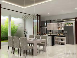 Araya, Malang: Ruang Makan oleh AIRE INTERIOR , Modern