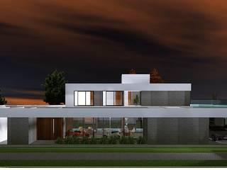 ★CASA RA - Saint Joseph - Longchamps - BS. AS.★: Casas unifamiliares de estilo  por SBG Estudio