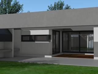 ★CASA GB - LA PLATA★: Casas unifamiliares de estilo  por SBG Estudio