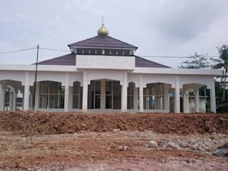 Nusantara Style Mosque by ARD Construction & Prefab House Services