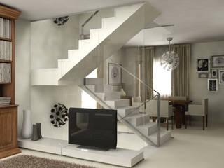 render: Ingresso & Corridoio in stile  di stefania talevi