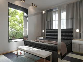 Дизайн-проект частного дома 330 кв м : Спальни в . Автор – Sweet Flat