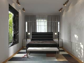 Дизайн-проект частного дома 330 кв м : Спальни в . Автор – Sweet Flat,