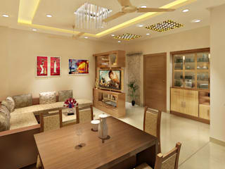 Classic style dining room by Srijan Homes Classic