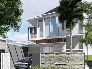 Idealook Casas estilo moderno: ideas, arquitectura e imágenes Concreto Gris