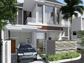 Idealook Casas unifamiliares Concreto Gris