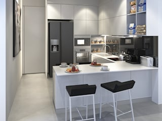 Minimalist kitchen by INK DESIGN STUDIO Minimalist