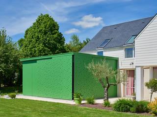 Extension maison Jardin d'hiver moderne par Camélia Alex-Letenneur Architecture Design Paysage Moderne