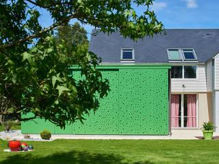 Extension maison Jardin d'hiver minimaliste par Camélia Alex-Letenneur Architecture Design Paysage Minimaliste