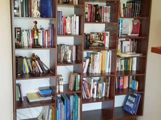 Kütüphane - Bookshelves Modern Çalışma Odası Maki Ahşap ve Metal Mobilya San. ve Tic. Ltd. Şti. Modern