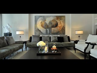 Modern living room by 原形空間設計 Modern