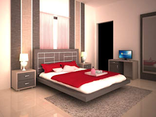 Bedroom by adorn, Modern