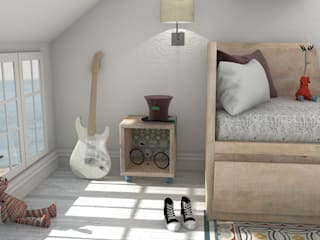 Teen bedroom by Blophome, Modern