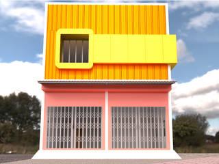 ออกแบบบ้าน style modern โดย mayartstyle โมเดิร์น