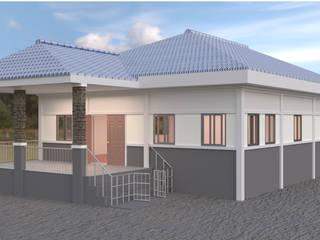 ออกแบบบ้าน style Country โดย mayartstyle คันทรี่