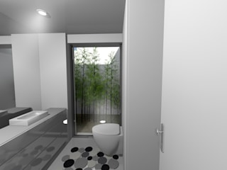 Instalação sanitária:   por espaço MUDE