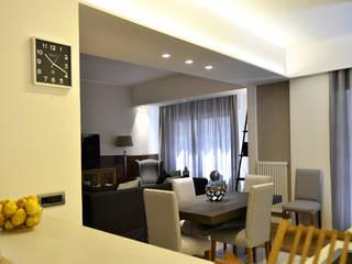 Modern dining room by danielainzerillo architetto&relooker Modern