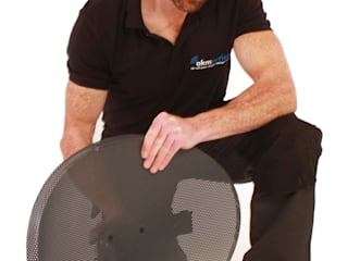 Satellite installations Stonehouse Stonehouse Aerials Living room Metal Black
