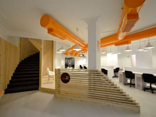 KIJAMII HQ by CUBEArchitects Minimalist