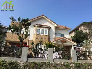 客製化設計-歐風別墅-日式健康綠建築 根據 詮鴻國際住宅股份有限公司 北歐風