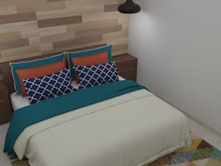 Modern style bedroom by Naromi Design Modern
