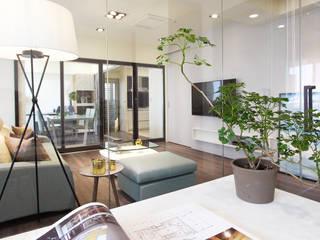 Nowoczesne domowe biuro i gabinet od 陳府設計 Chenfu Design Nowoczesny