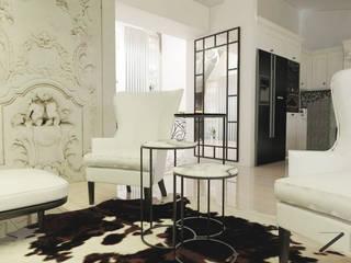 Salon de style  par ZIN Studio, Classique
