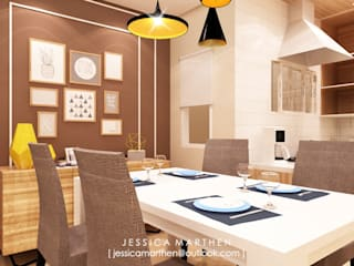 JESSICA DESIGN STUDIO Modern dining room