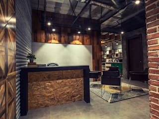 Industrial style offices & stores by FN Design Industrial