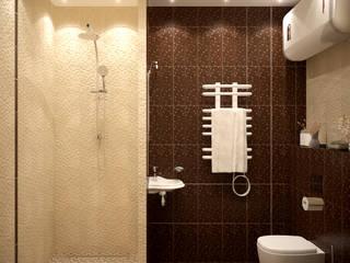 Moderne Badezimmer von Студия интерьерного дизайна happy.design Modern