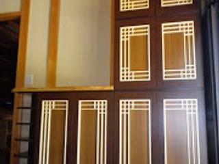 サイズに合う玄関収納棚 クラシカルスタイルの 玄関&廊下&階段 の 木工房玄翁屋 クラシック