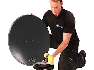 Satellite installations Dursley Dursley Aerials Electronics Metal Black