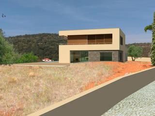 Hill Top Villa 37°10'N 7°59′W van J2Creators Modern