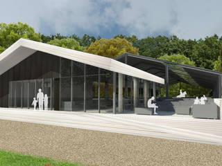 Multifunctioneel clubhuis / Manege Moderne evenementenlocaties van J2Creators Modern