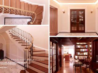 Klassischer Flur, Diele & Treppenhaus von Pietre di Rapolano Klassisch