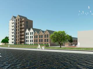Woningbouw complex van J2Creators Modern