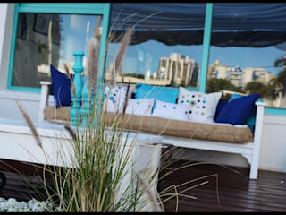 Eclectic style hotels by Diseñadora Lucia Casanova Eclectic