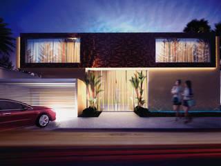 Residência por Daniel Kalil Arquitetura Moderno