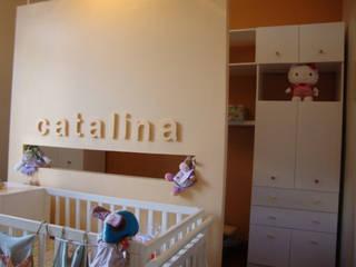 ARQUITECTA MORIELLO Nursery/kid's roomBeds & cribs