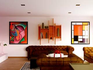 Sala de Estar.:  de estilo  por A11 Estudio | Arquitectura | Visualizacion | Construccion | Interiorismo