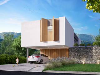 Casa Sanchez:  de estilo  por Etéreo Arquitectos