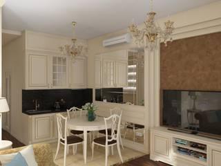 Cocinas de estilo clásico de МайАрт: ремонт и дизайн помещений Clásico