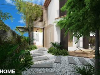 รีโนเวทและต่อเติมบ้านเดี่ยว โดย Innhome Design Studio