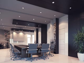 : Ruang Kerja oleh Celcius Indonesia, Modern