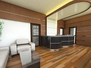 : Gedung perkantoran oleh Celcius Indonesia, Modern