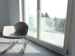 Salas / recibidores de estilo  por Neugebauer Architekten BDA, Minimalista