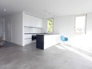 Cocinas minimalistas de Neugebauer Architekten BDA Minimalista