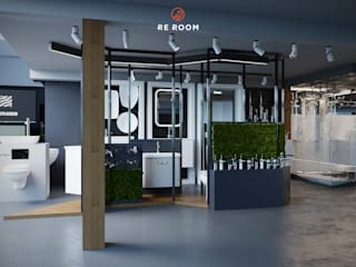 Commercial Spaces by Reroom, Minimalist